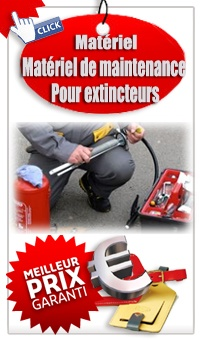 Catalogue Matériel de Maintenance Extincteurs